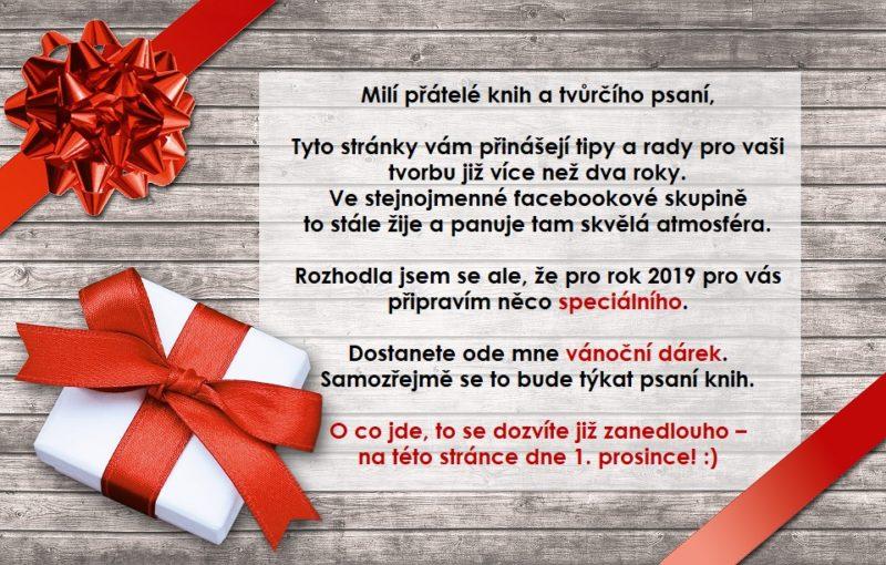 Vánoční dárek pro vás – již brzy!